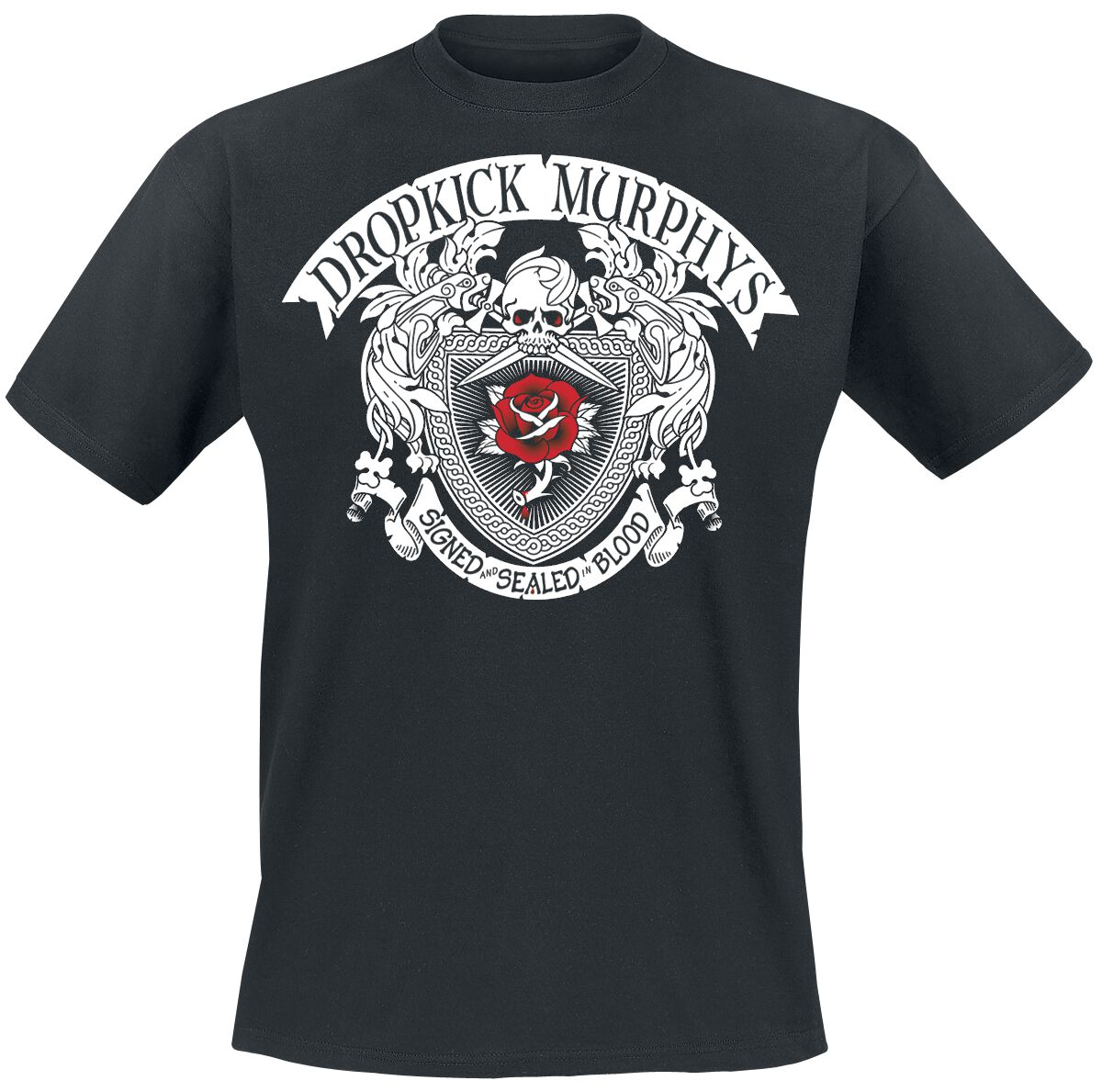 Zespoły - Koszulki - T-Shirt Dropkick Murphys Signed And Sealed In Blood T-Shirt czarny - 250060