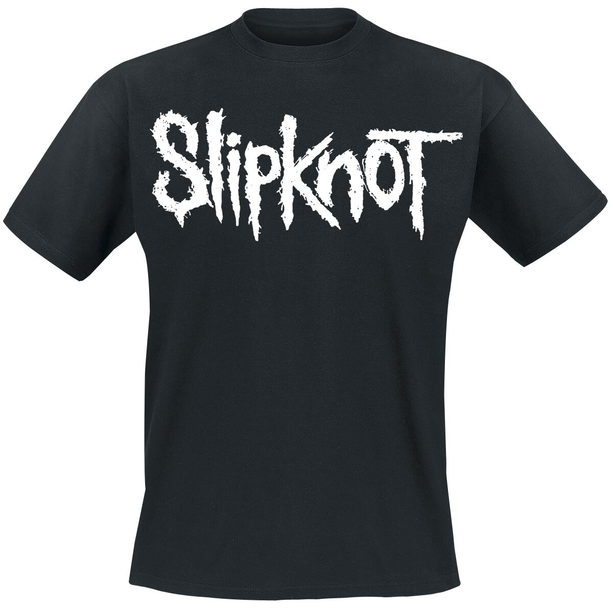 Image of   Slipknot White Logo T-Shirt sort