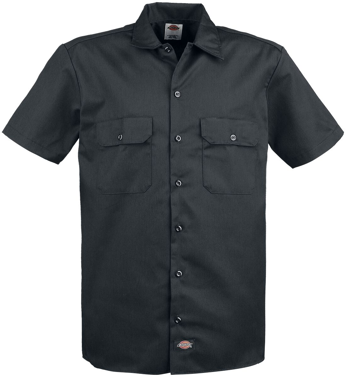 Image of   Dickies Short Sleeve Work Shirt Skjorte sort