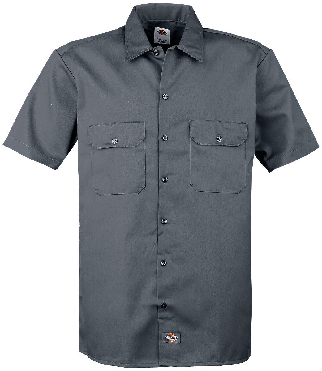 Image of   Dickies Short Sleeve Work Shirt Skjorte koks