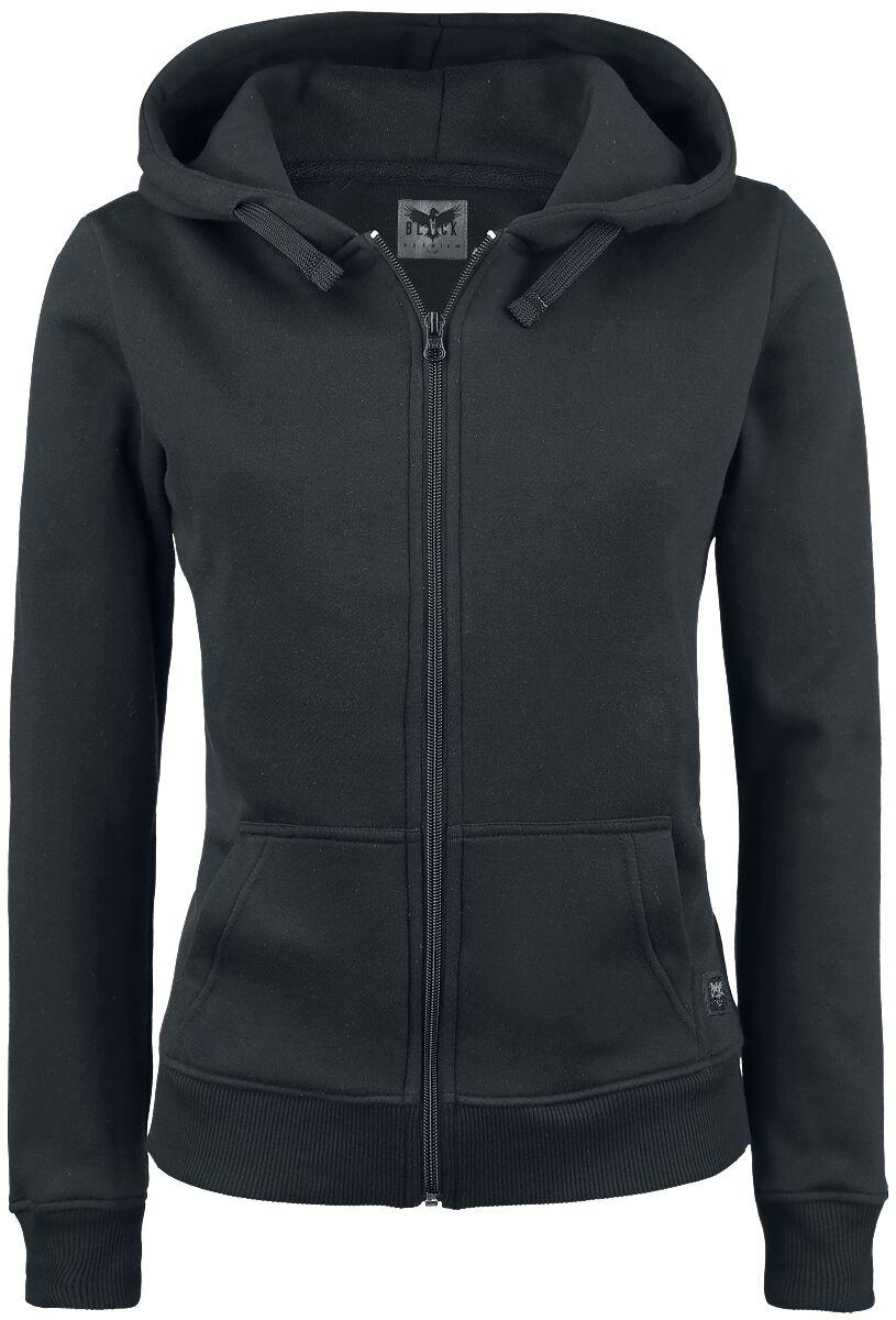 Black Premium by EMP Freaking Out Loud Bluza z kapturem rozpinana damska czarny