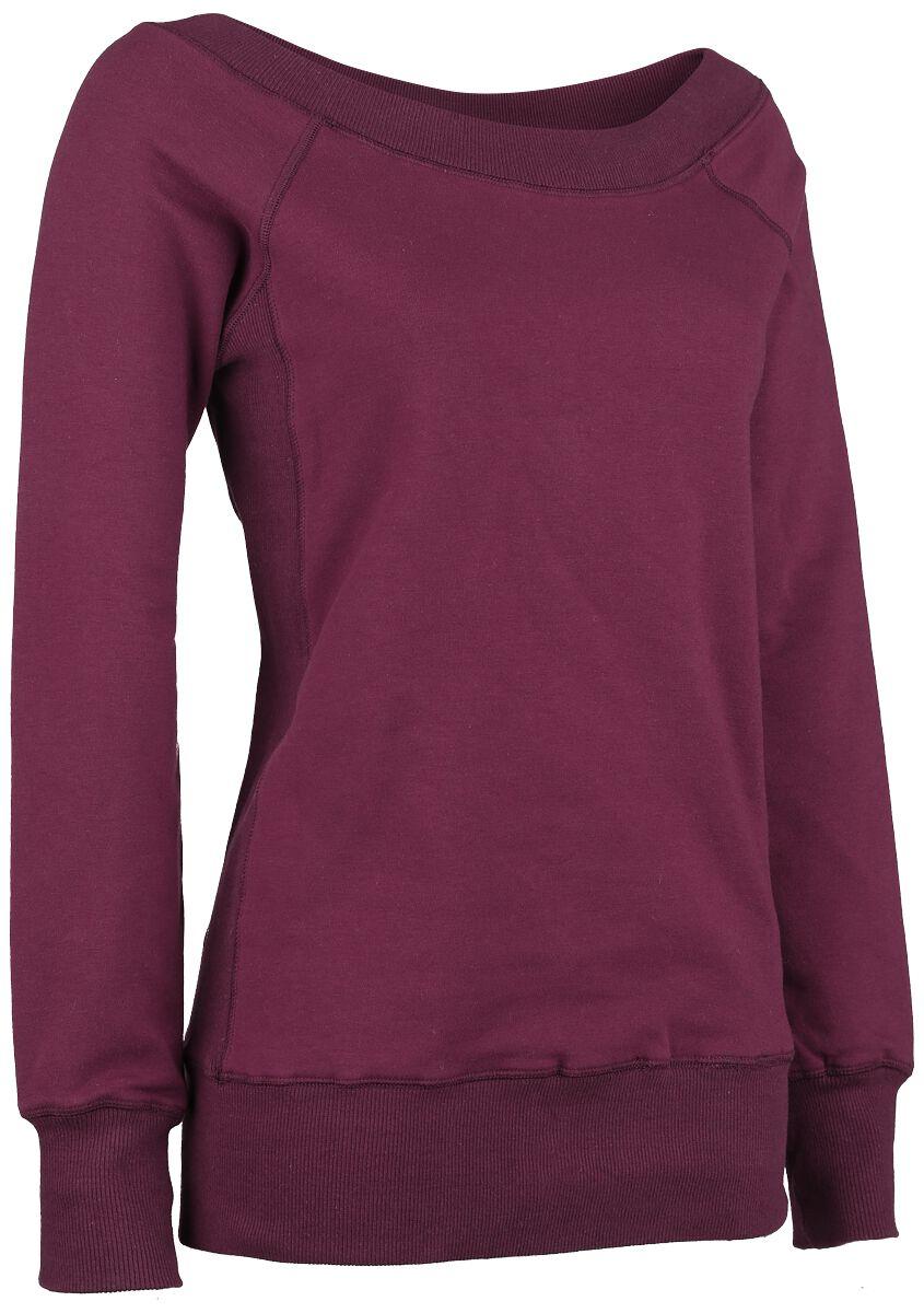 Image of   Forplay Sweater Girlie sweatshirt vin rød