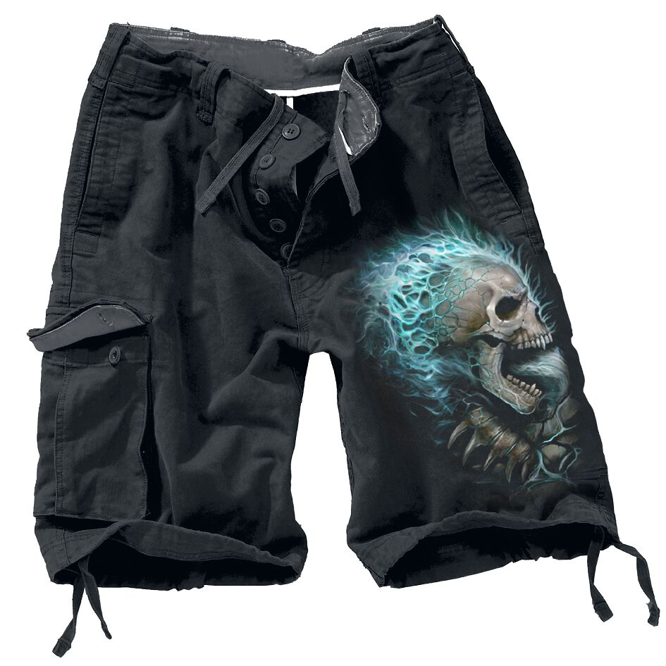 Image of   Spiral Flaming Spine Vintage shorts sort