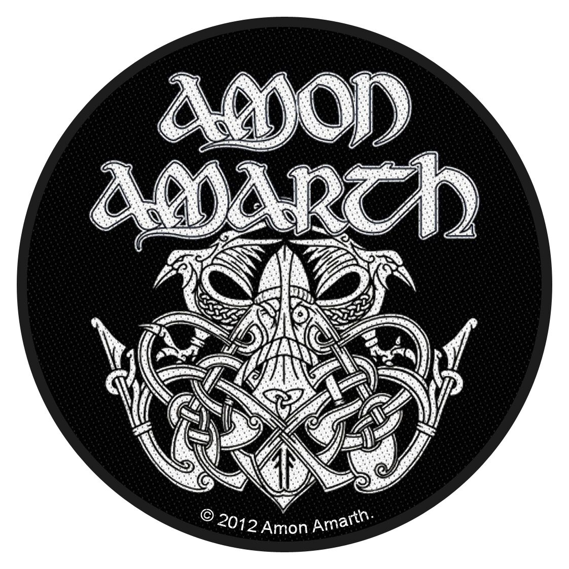 Image of   Amon Amarth Odin Patch standard