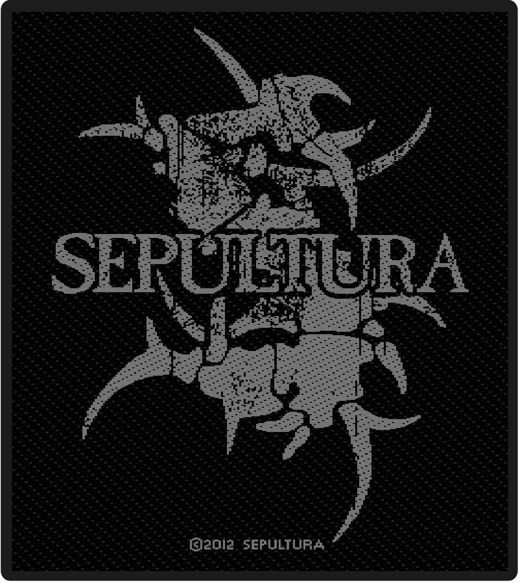 Sepultura Logo Patch Standard