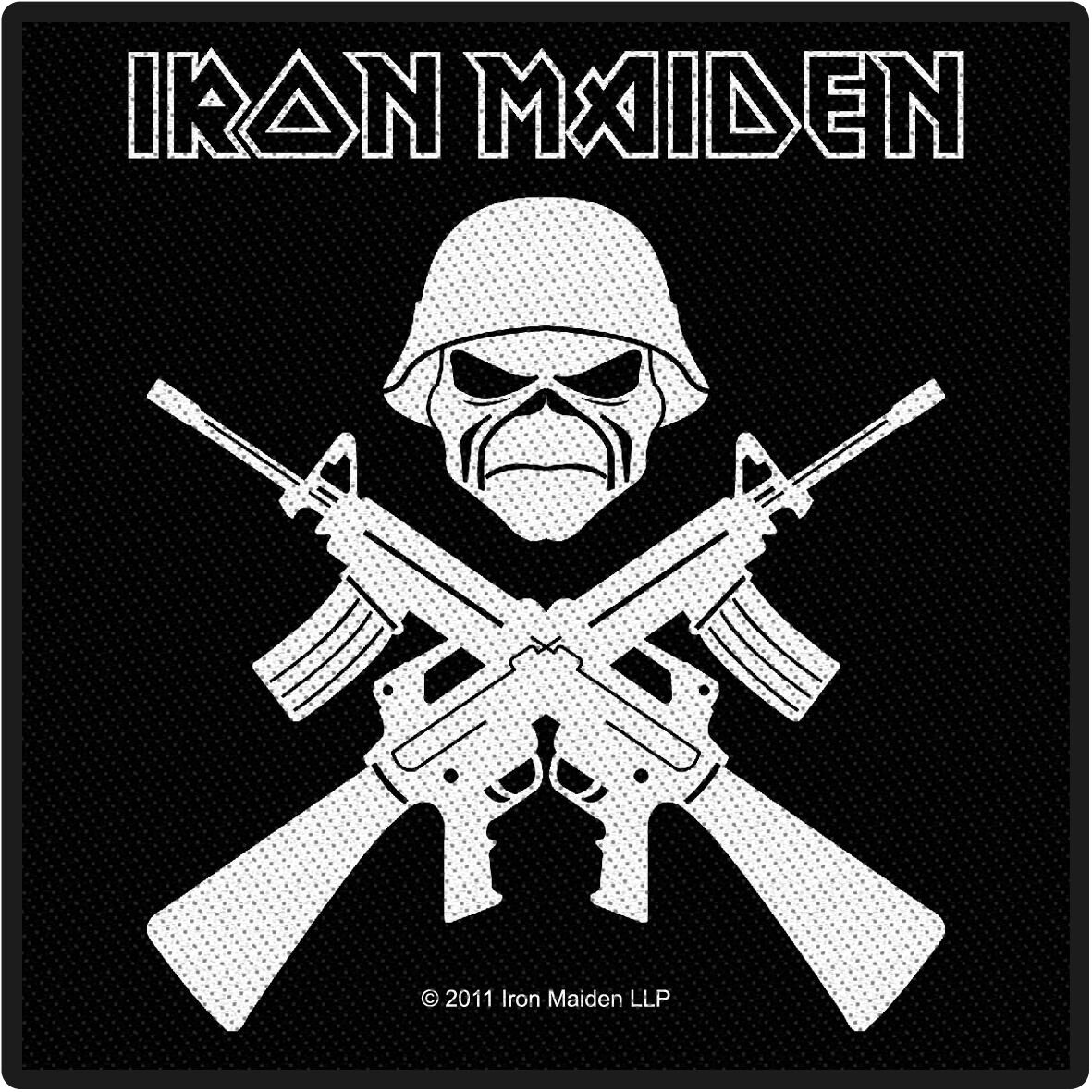 Image of   Iron Maiden A matter of life and death Patch standard