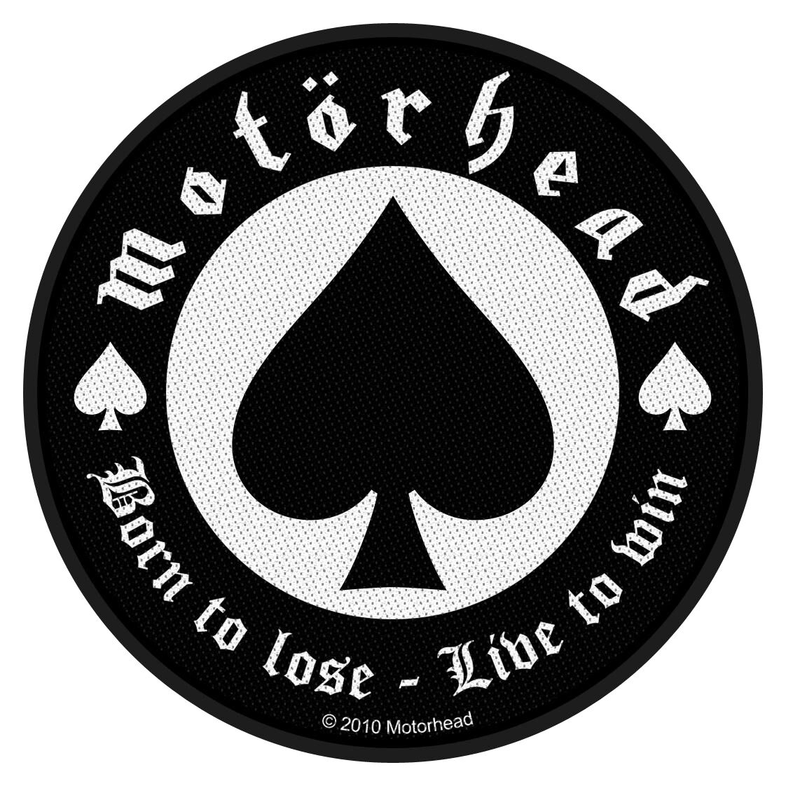 Motörhead Born To Lose Patch Standard