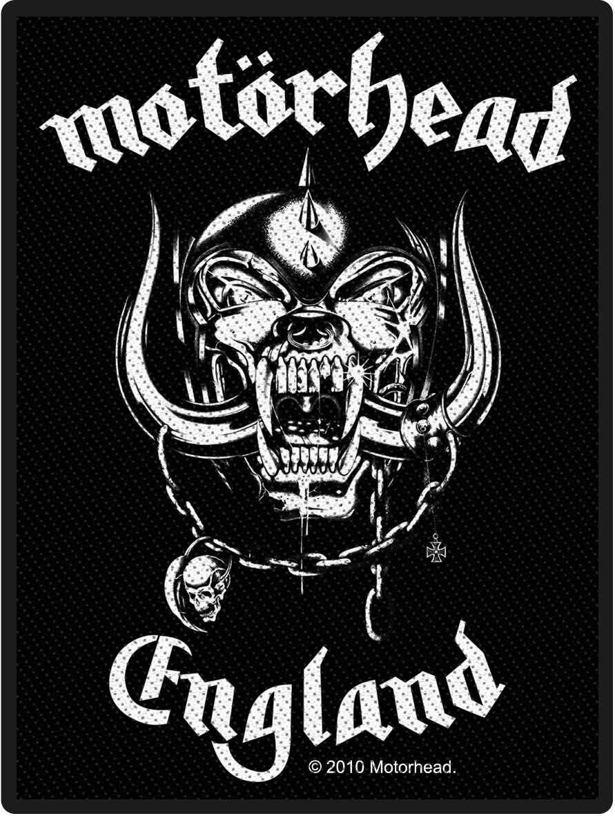 Image of   Motörhead England Patch standard