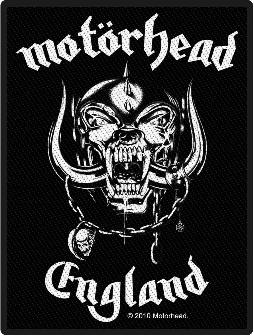 Motörhead England Parche standard