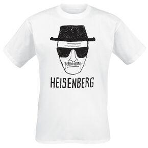 Breaking Bad Heisenberg T-shirt blanc