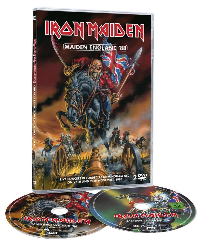 Image of   Iron Maiden Maiden England '88 2-DVD standard