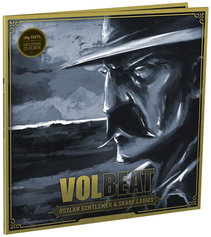 Image of   Volbeat Outlaw gentlemen & shady ladies 2-LP Standard