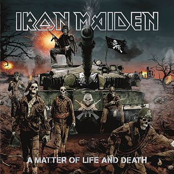Image of   Iron Maiden A matter of life and death CD standard