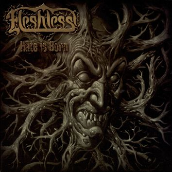 Image of   Fleshless Hate is born CD Standard