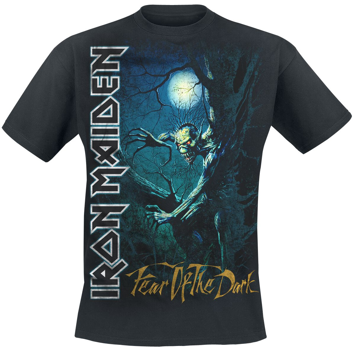 Image of   Iron Maiden Fear Of The Dark T-Shirt sort