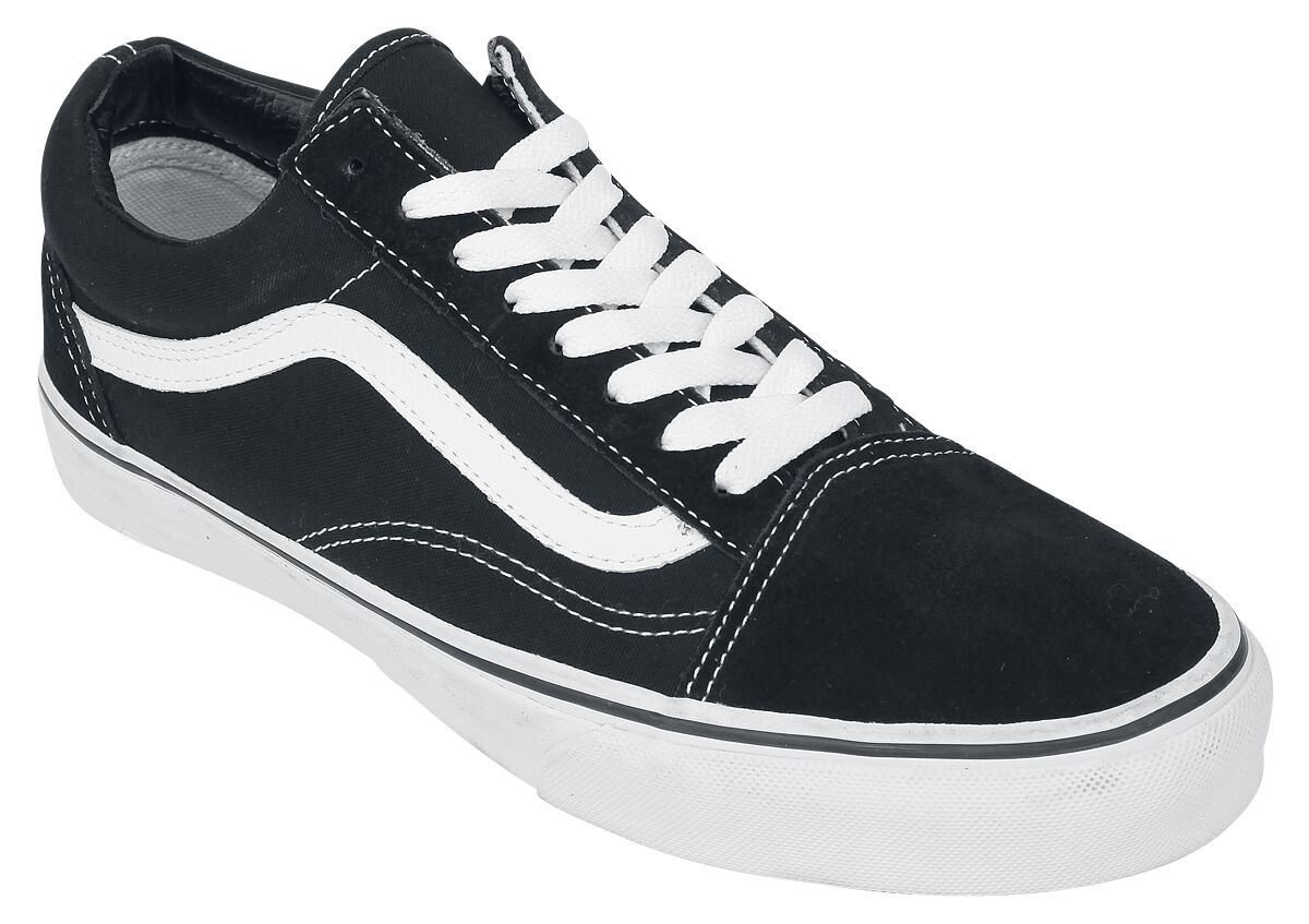 Image of   Vans Old Skool Sneakers sort-hvid