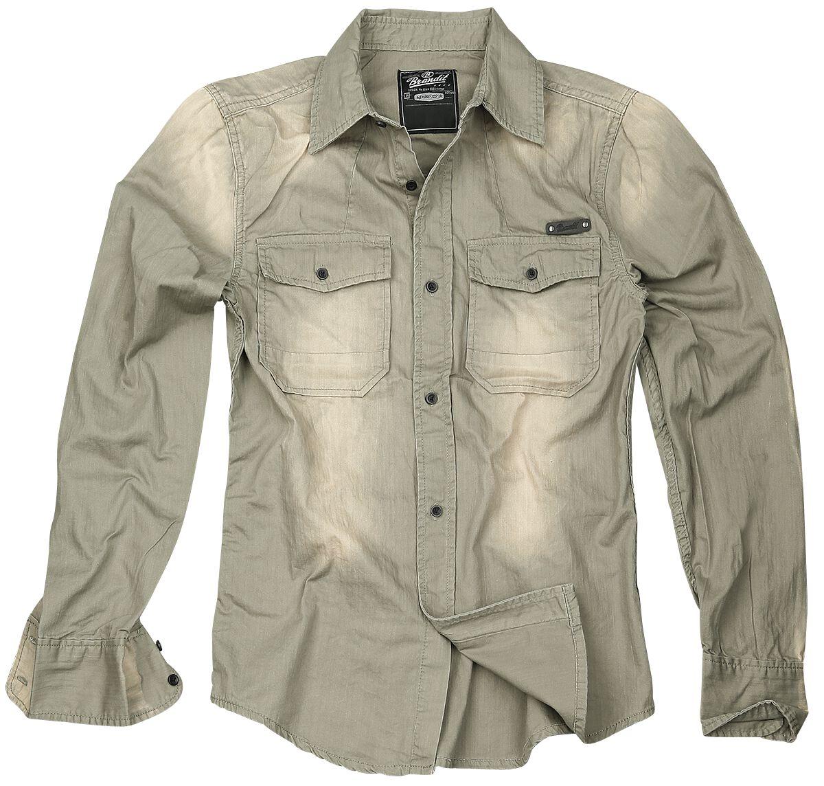 Image of   Brandit Hardee Skjorte beige