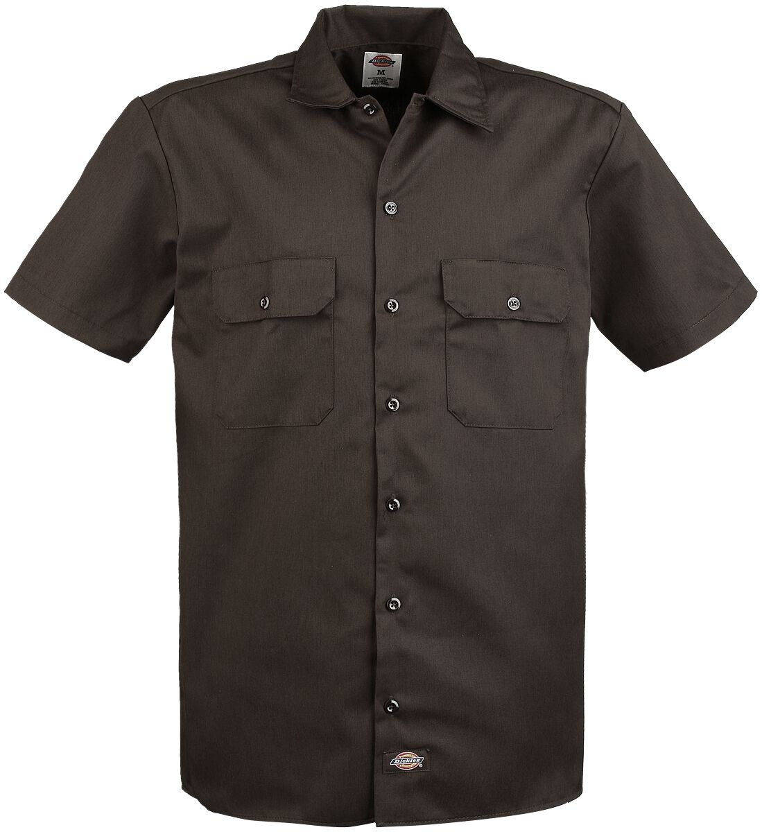 Image of   Dickies Short Sleeve Work Shirt Skjorte brun