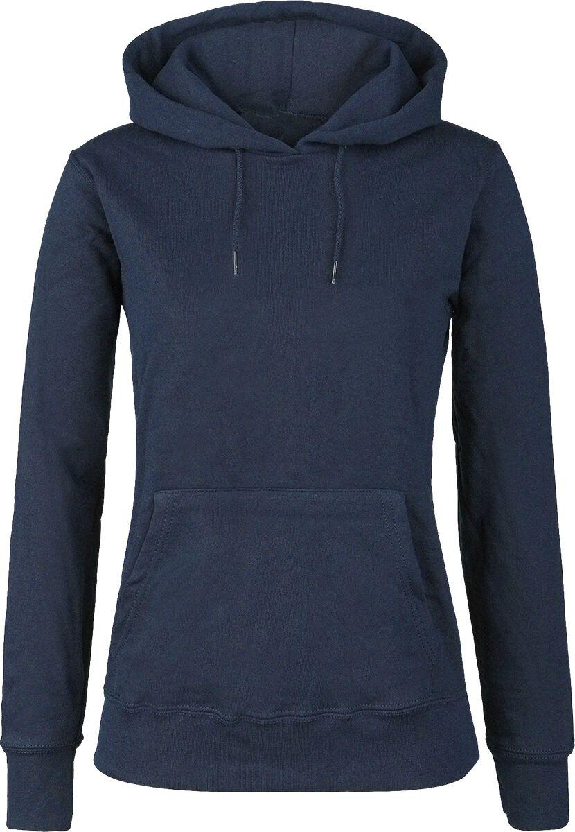 Basics - Bluzy z kapturem - Bluza z kapturem damska Fruit Of The Loom Lady-Fit Bluza z kapturem damska granatowy - 260828