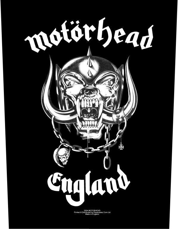 Image of   Motörhead England Rygmærke Standard