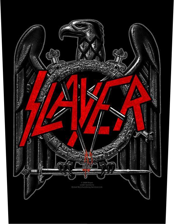 Image of   Slayer Black Eagle Rygmærke Standard