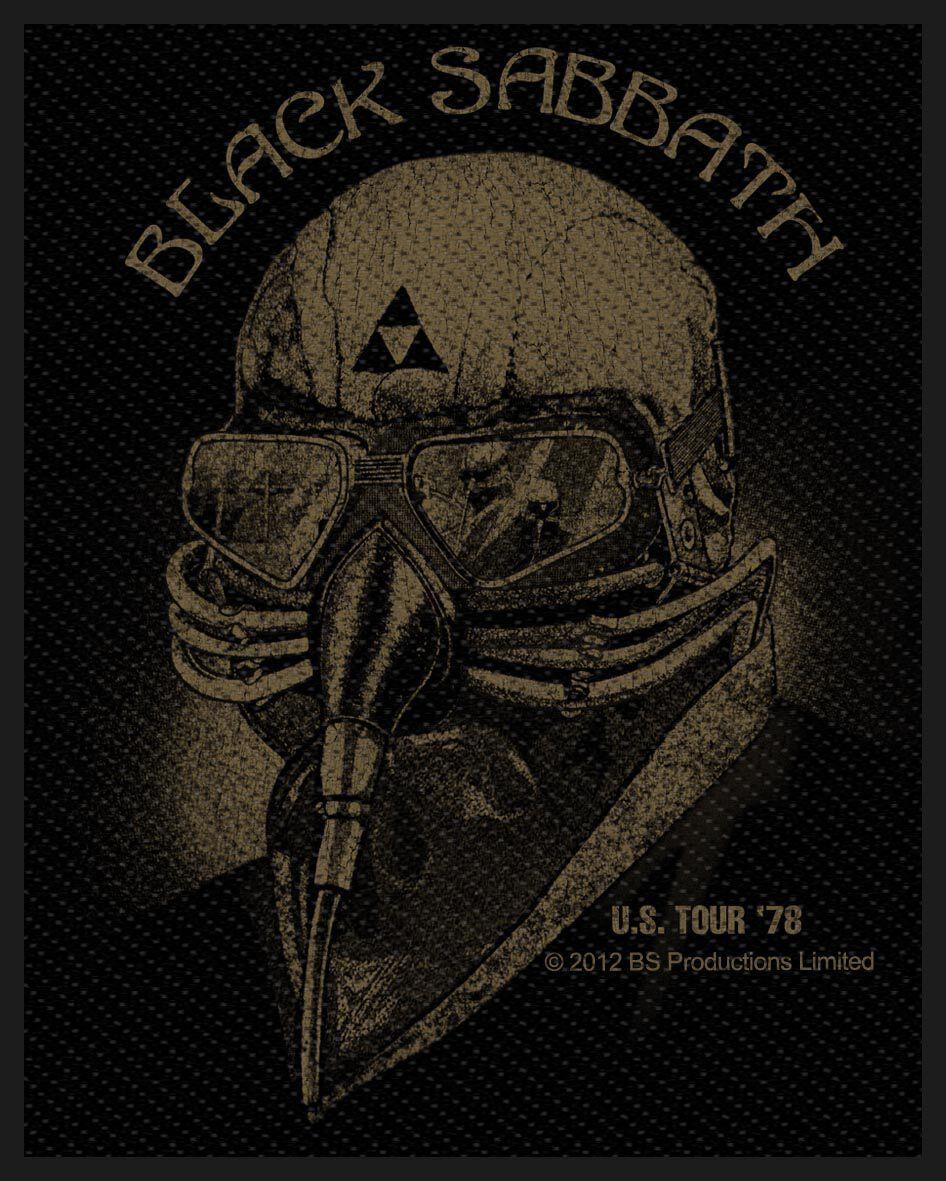 Image of   Black Sabbath U.S. Tour '78 Patch Standard