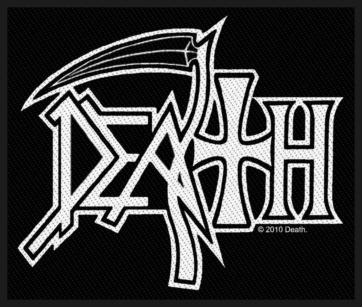Death Logo Patch Standard