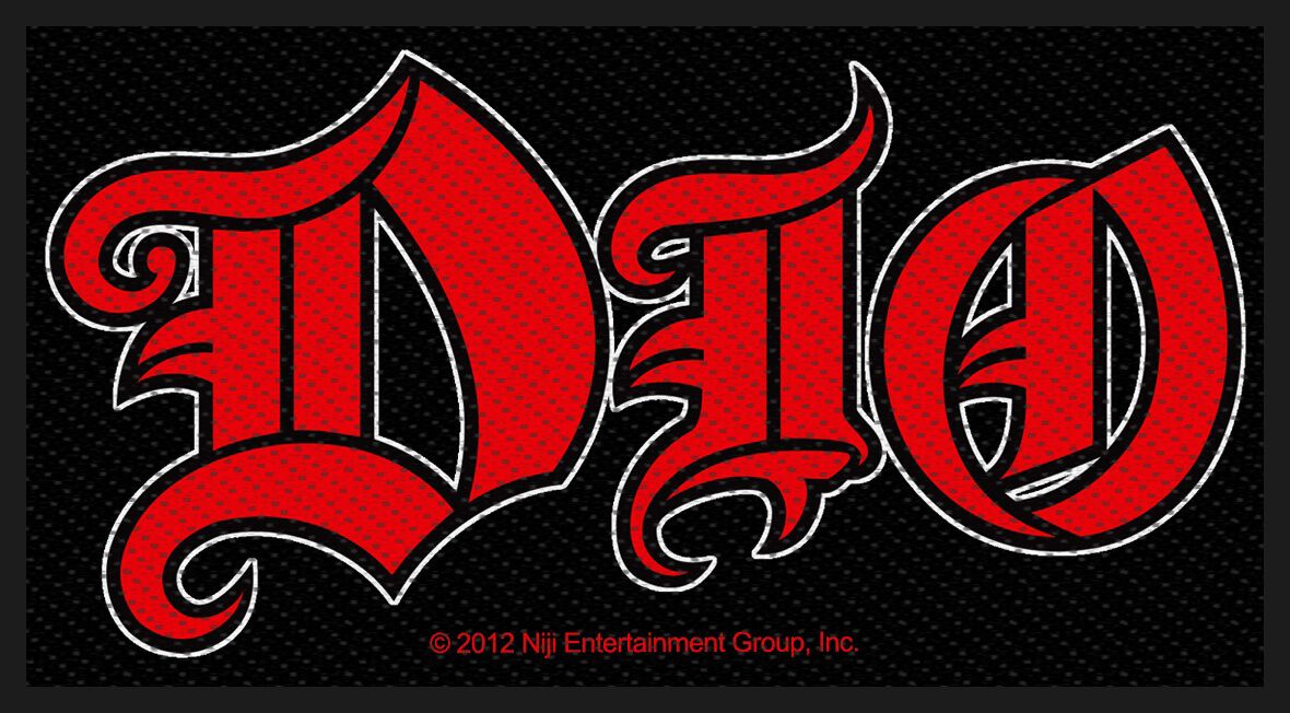 Dio Logo Patch Standard
