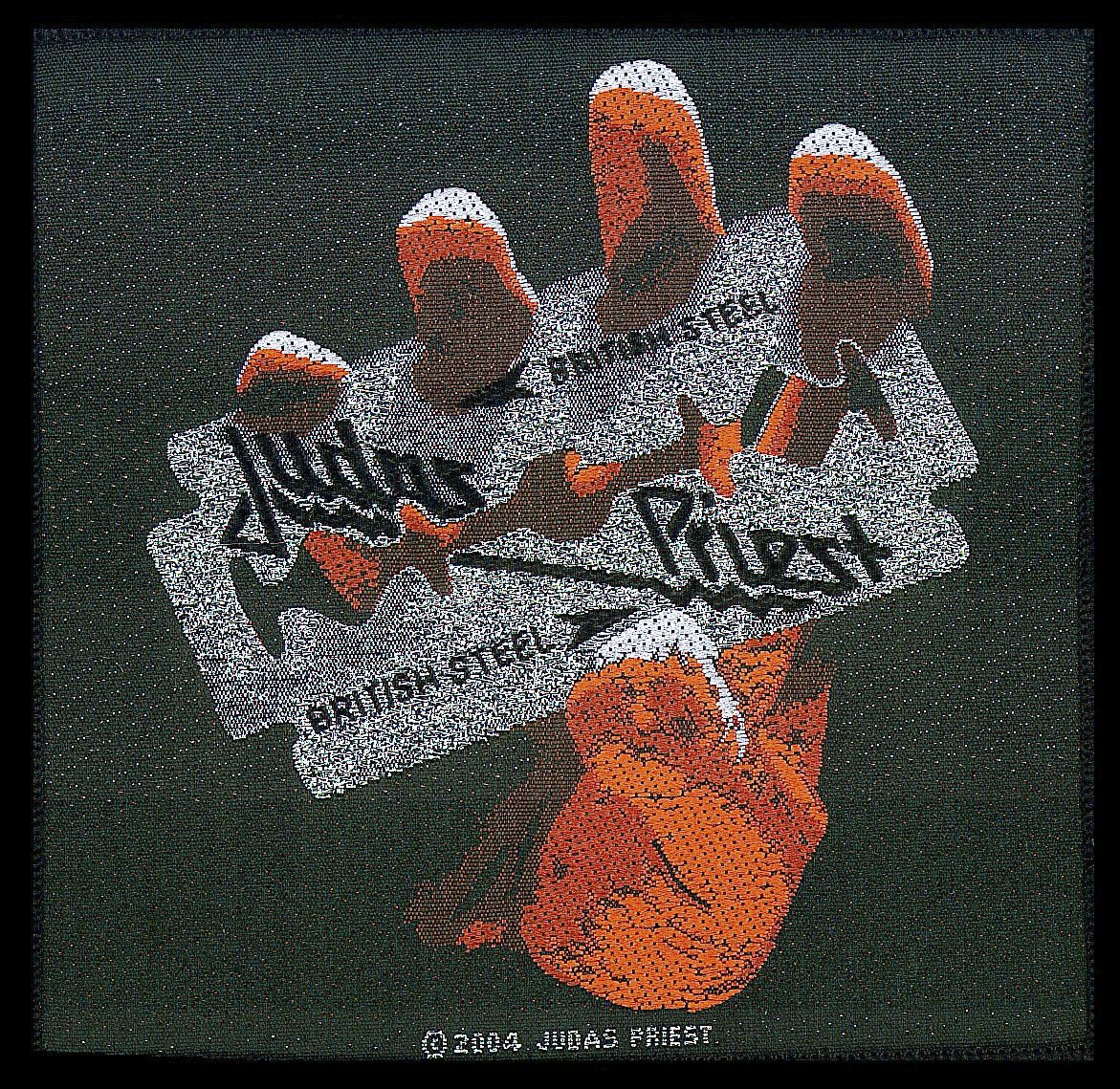 Image of   Judas Priest British steel Patch Standard