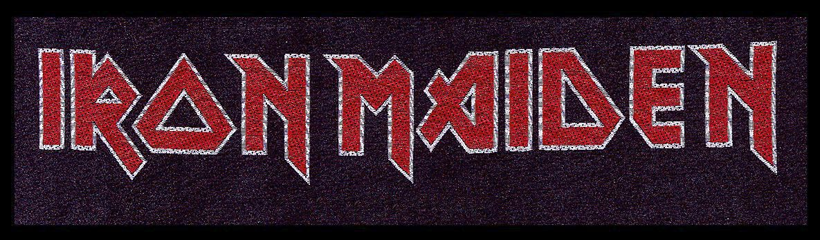 Image of   Iron Maiden Logo Patch standard