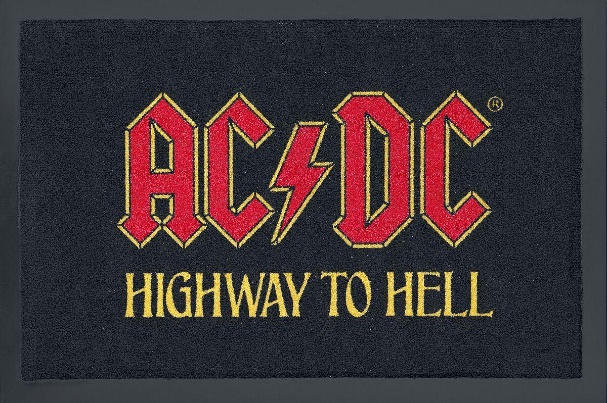 Image of   AC/DC Highway to hell Dørmåtte sort