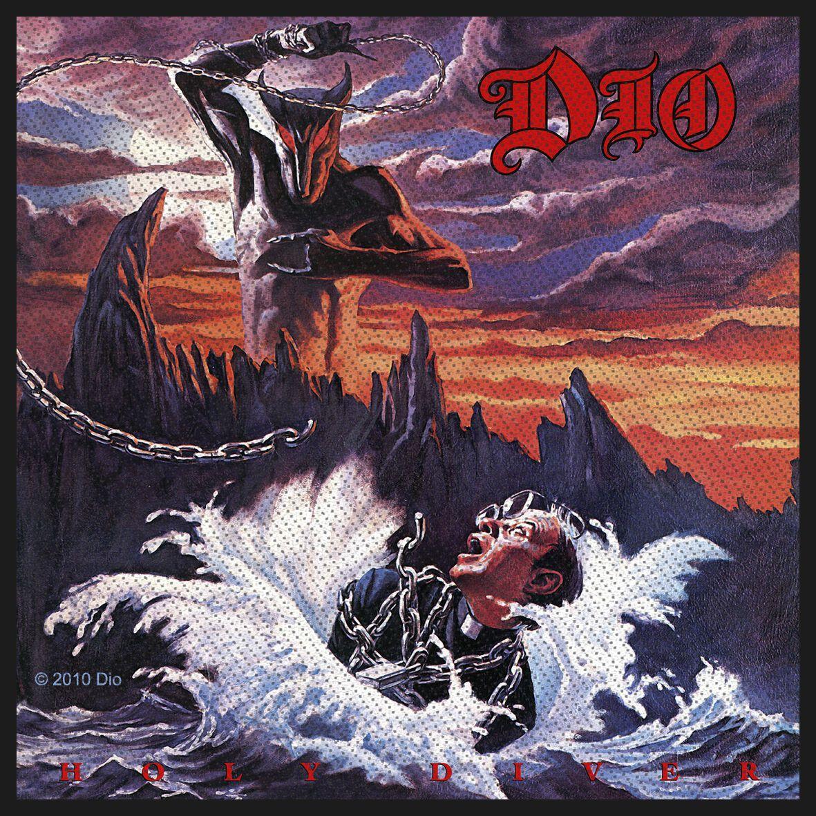 Zespoły - Naszywki - Naszywka Dio Holy diver Naszywka standard - 261613