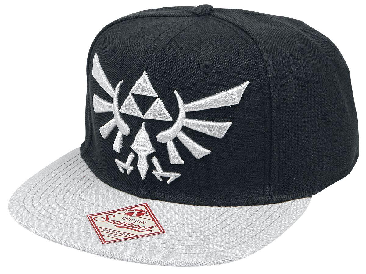 Image of   The Legend Of Zelda Logo Snapback Cap sort