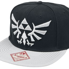 The Legend Of Zelda Logo Casquette Snapback noir
