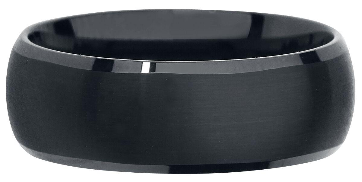Ringe für Frauen - Black Tungsten Ring Standard  - Onlineshop EMP