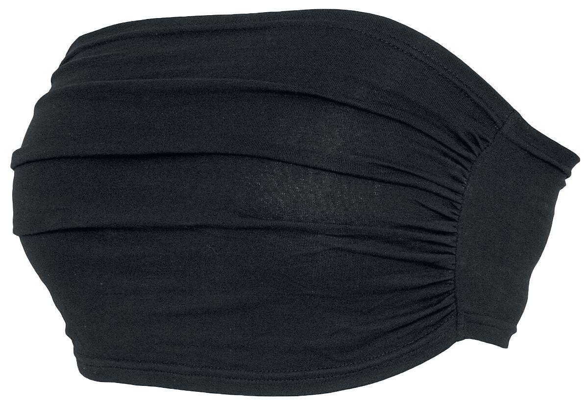 Image of   Black Premium by EMP Bandeau Top Girlie bandeautop sort
