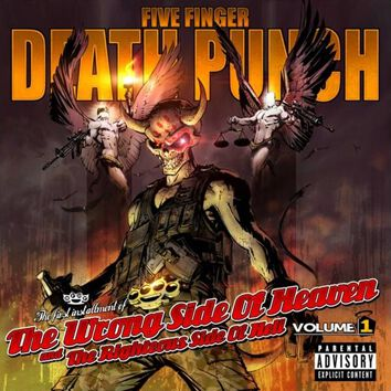 Image of   Five Finger Death Punch The wrong side of heaven and the righteous side of hell volume 1 CD standard