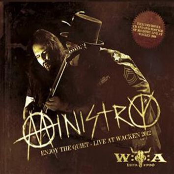Image of   Ministry Enjoy the quiet - Live at Wacken 2012 CD standard