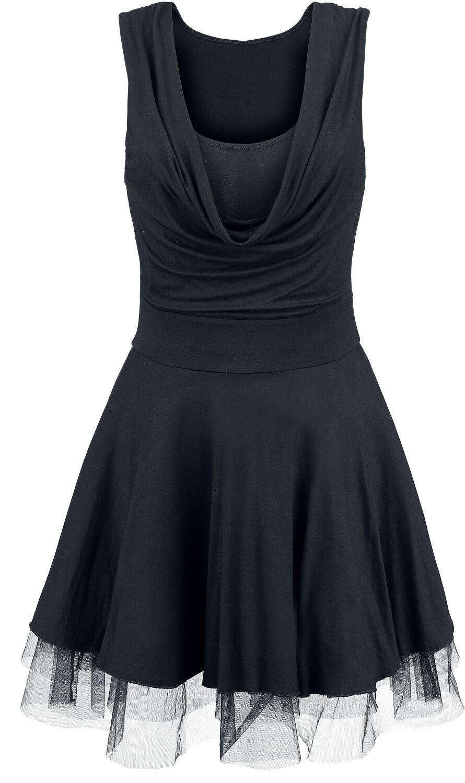 Kleider - Black Premium by EMP Oh Boy! Mittellanges Kleid schwarz  - Onlineshop EMP