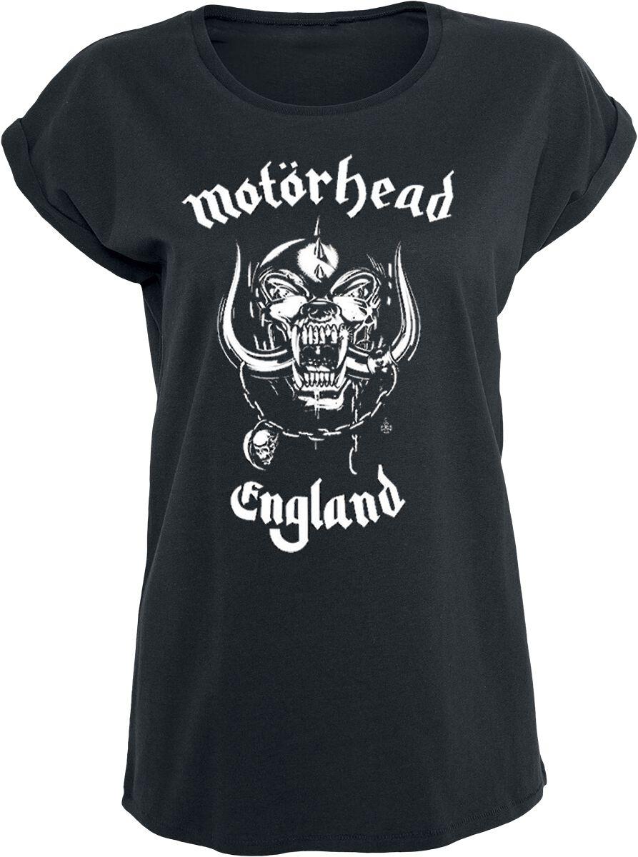 Image of   Motörhead England Girlie trøje sort