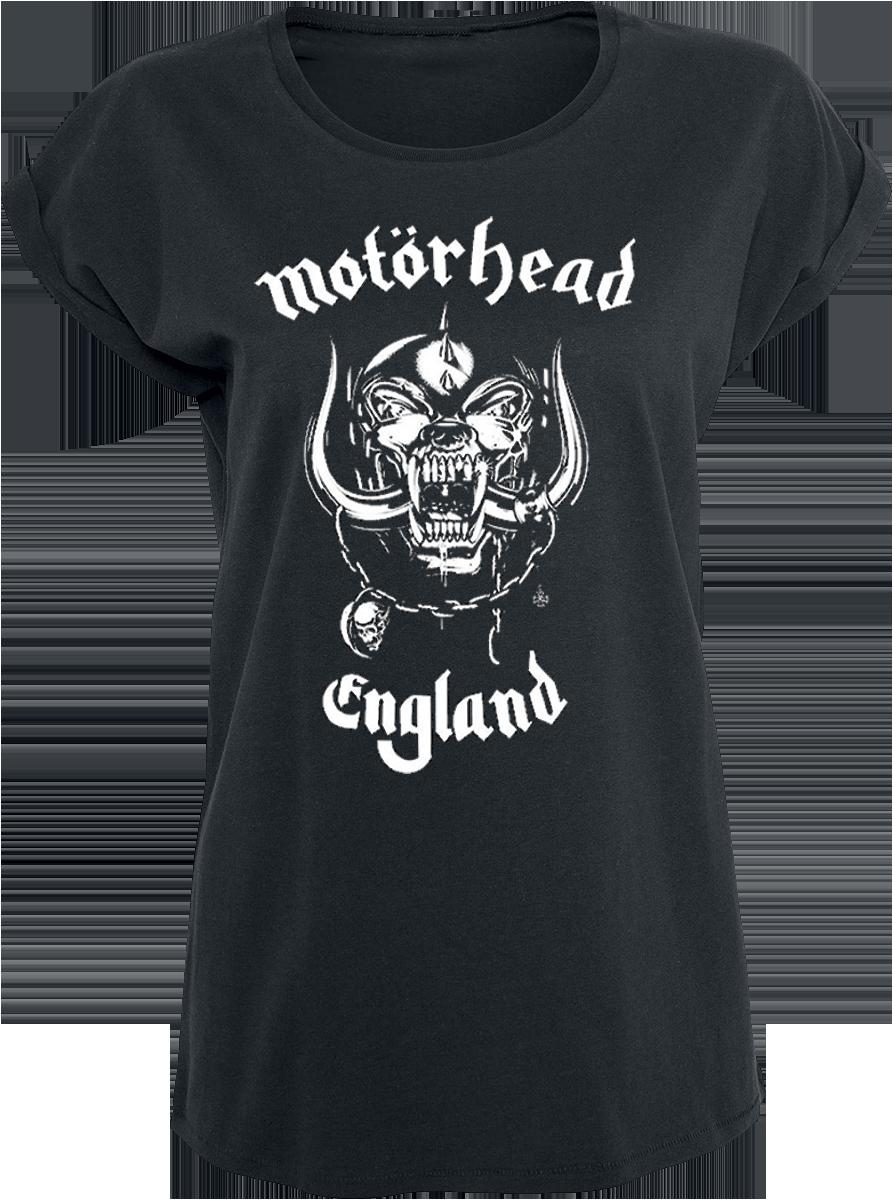 Motörhead England Koszulka damska czarny
