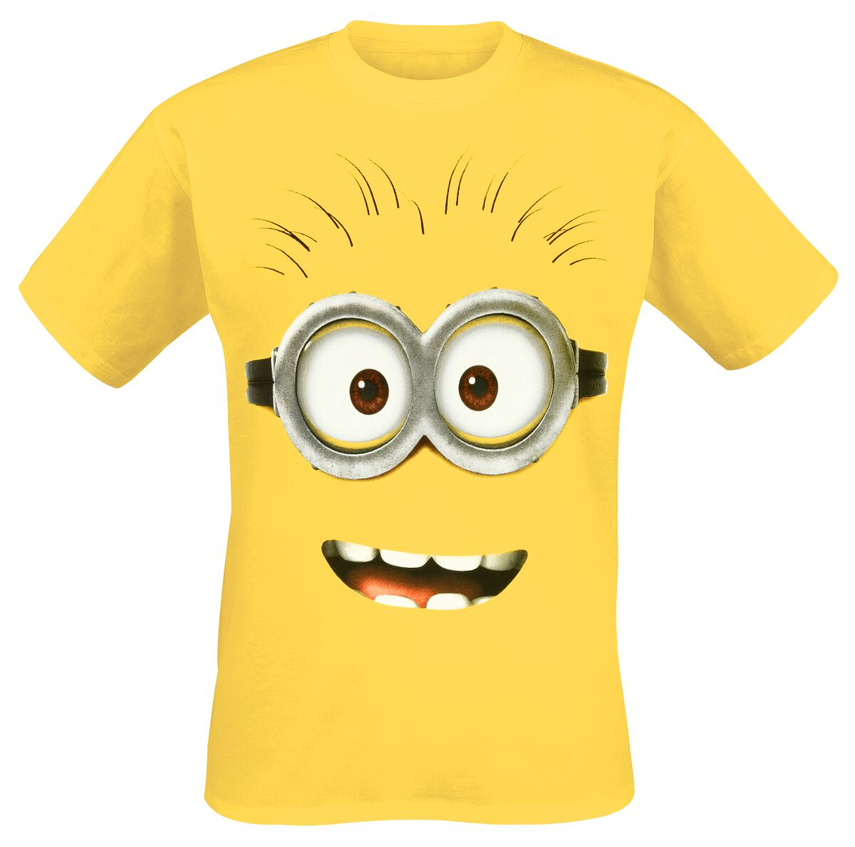 Image of   Minions Goggle Face T-Shirt gul
