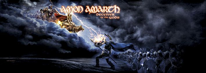 Image of   Amon Amarth Deceiver of the gods Dør flag standard
