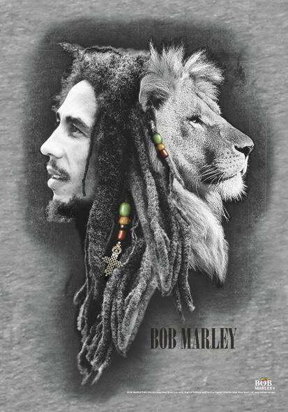 Zespoły - Flagi - Flaga Bob Marley Profiles Flaga standard - 264368
