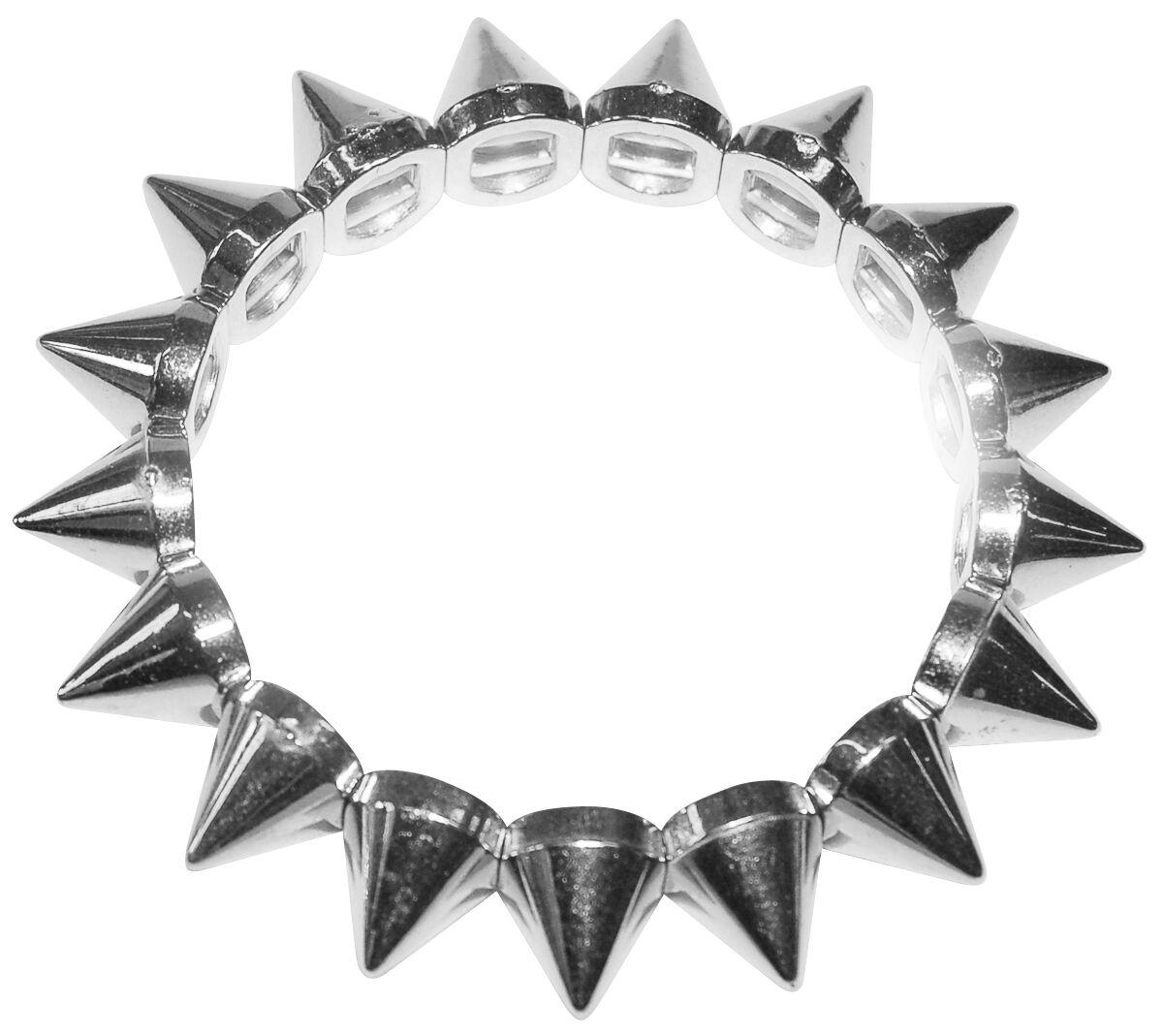 Marki - Bransoletki - Bransoletka Silicone Valley Conical Bracelet Bransoletka srebrny - 264424