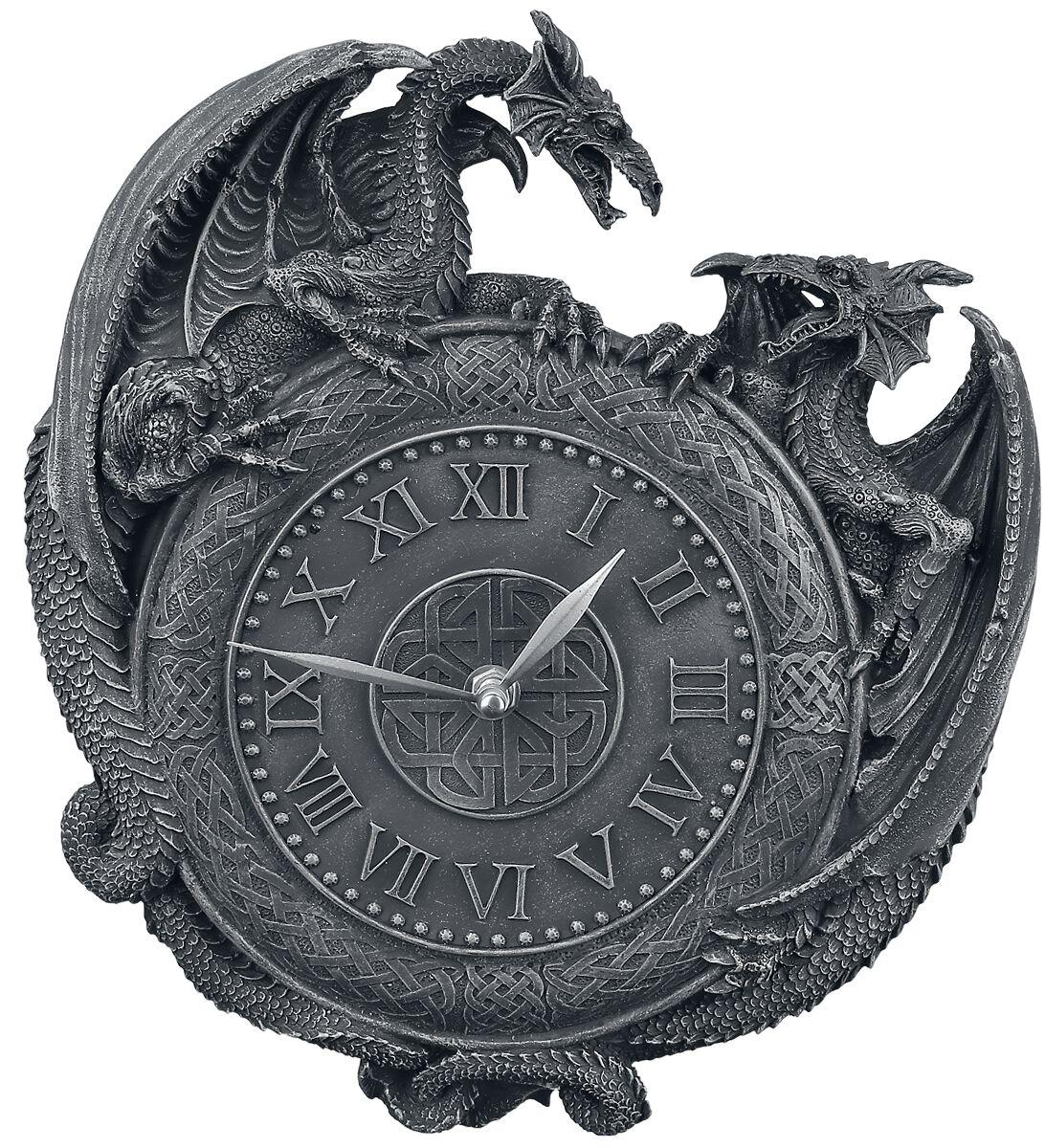 Image of   Nemesis Now Dragon Duel Vægur Vægur sort