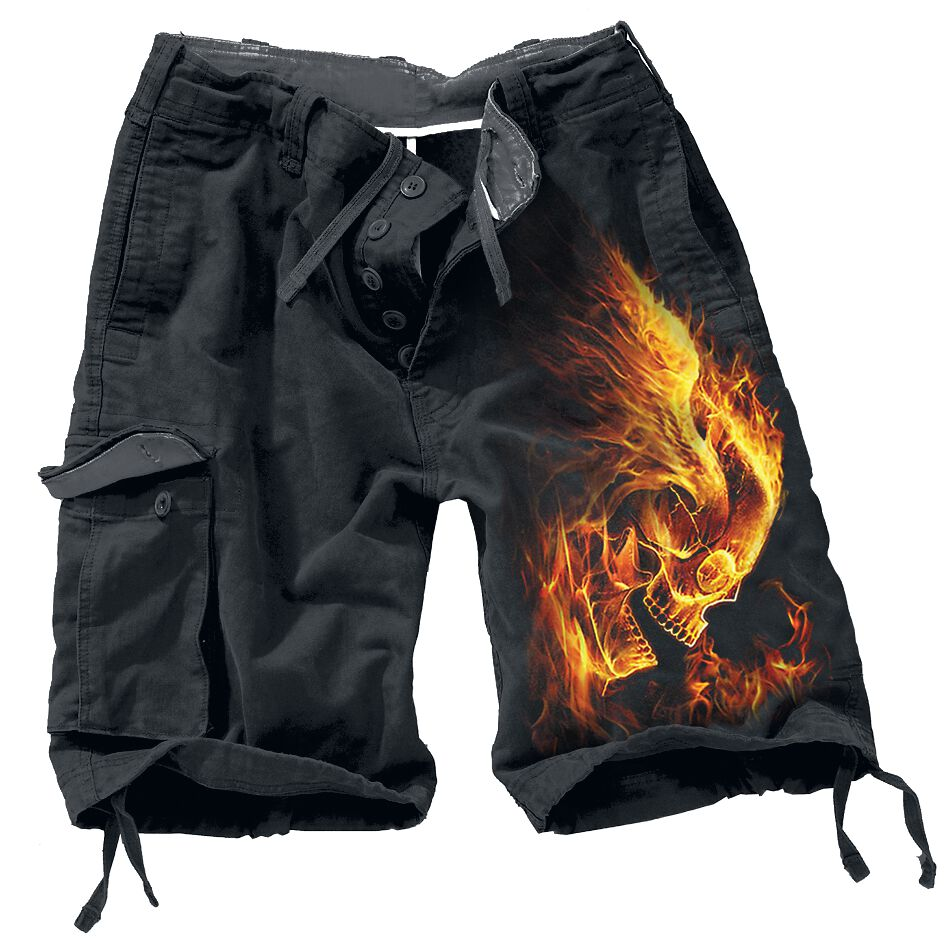 Image of   Spiral Burn In Hell Vintage shorts sort
