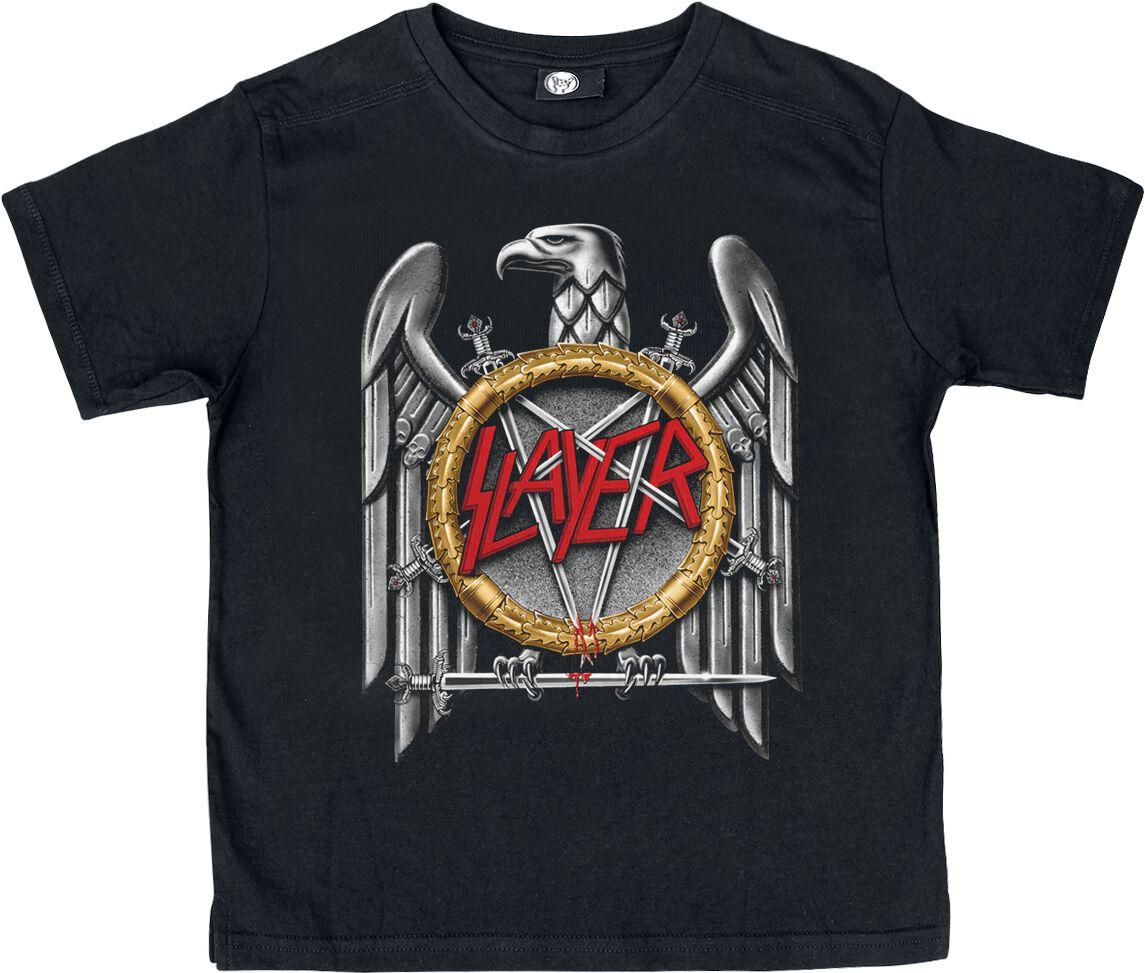 Image of   Slayer Silver Eagle Børnetrøje sort