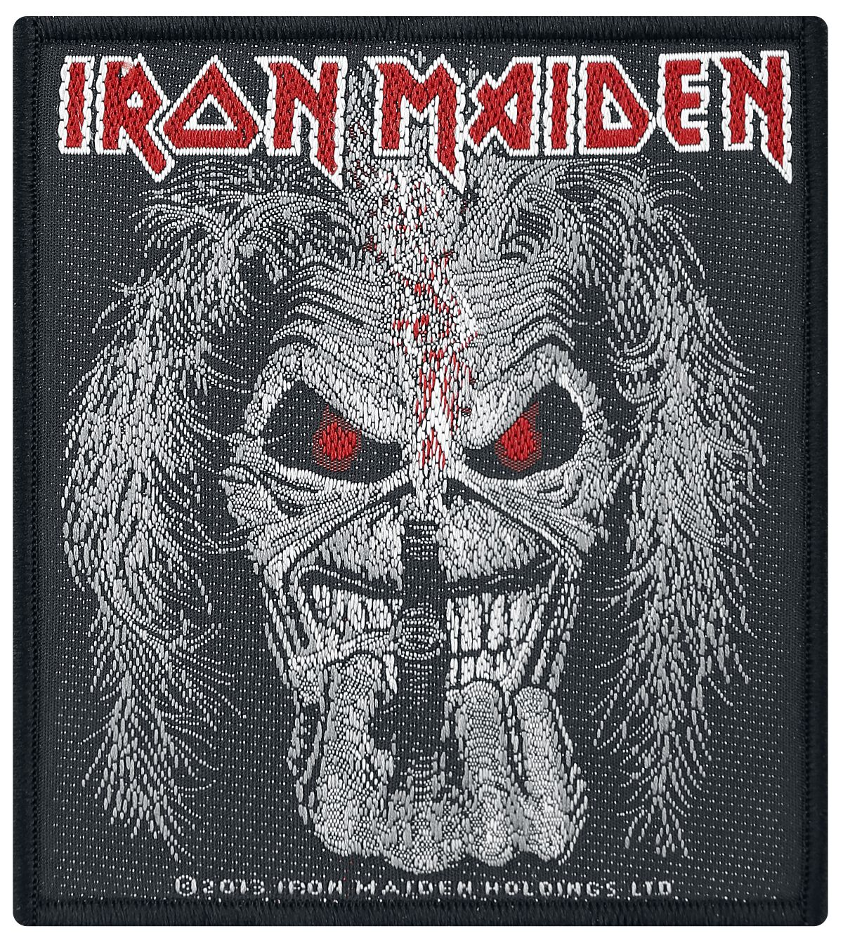 Image of   Iron Maiden Candle Finger Patch standard