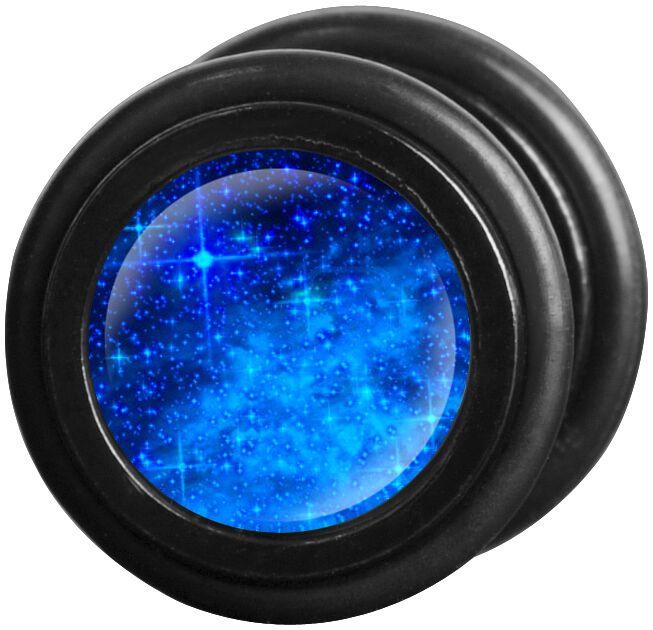 Image of   Wildcat Galaxy Fake plug sæt blå
